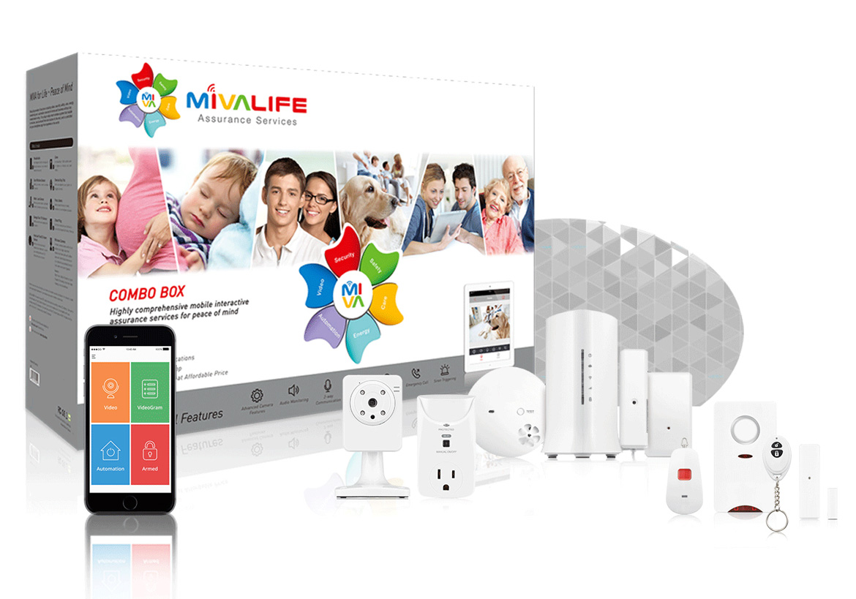Home8 plug and play Inbraak & camerasysteem